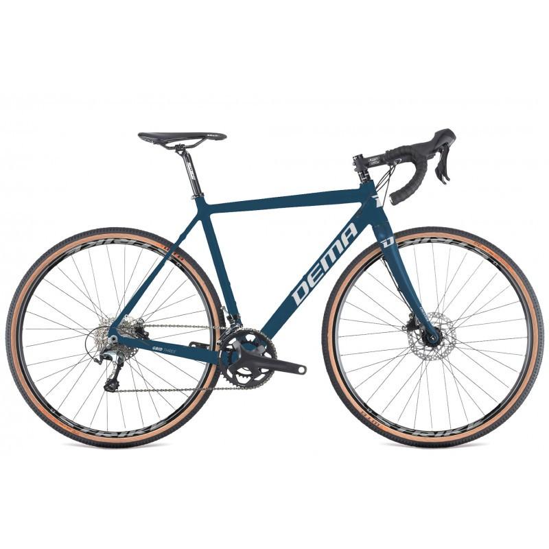 DEMA gravel velosipēds GRID 3 tumši zils 2021